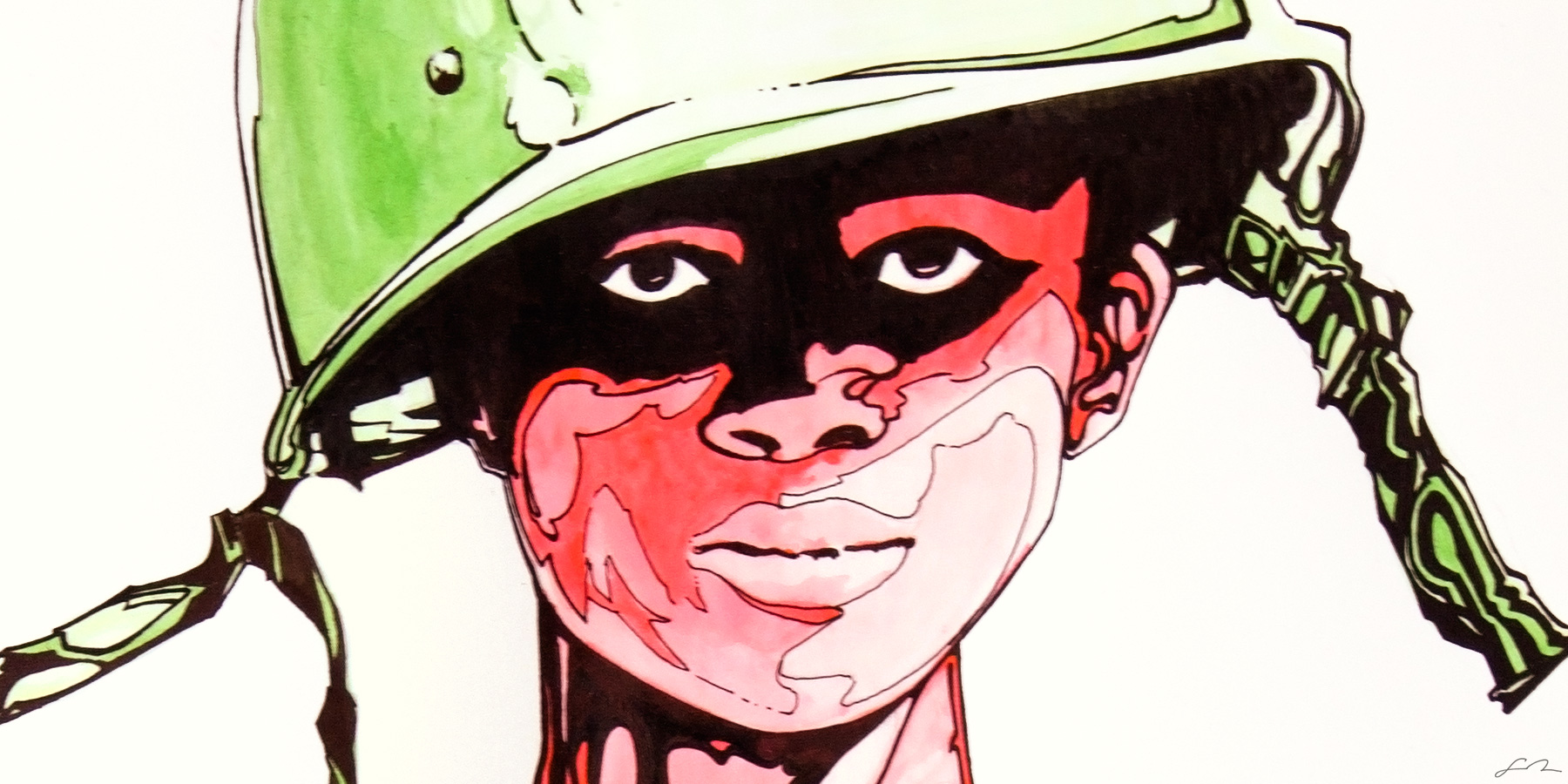 Niño Rojo Closeup