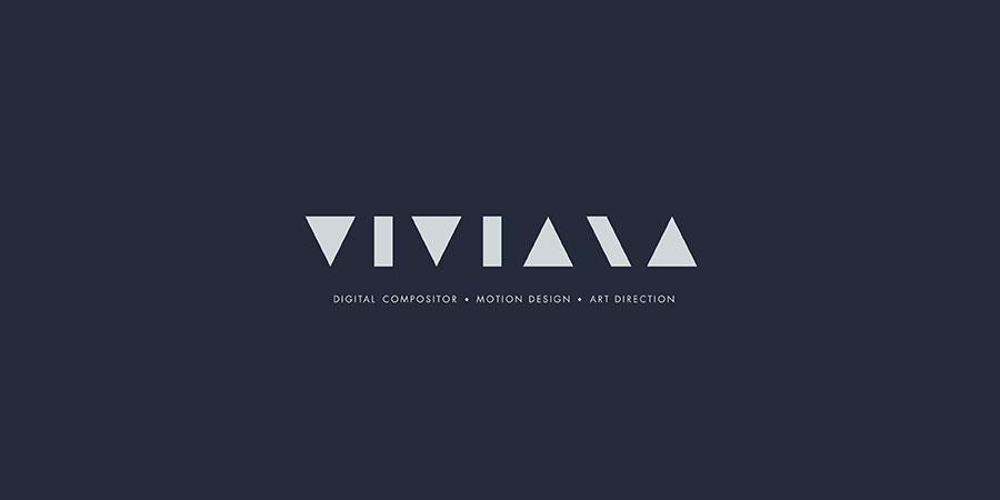 Viviana Visual Identity grey over dark