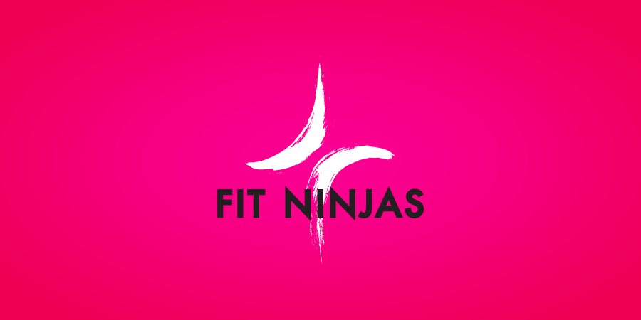 fit ninjas branding by francisco romano
